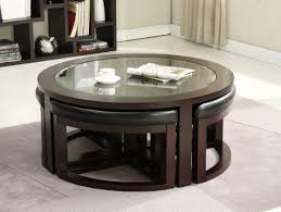 Round Function Tables Round Glass Coffee Table Living Room Neoteric Glass Table