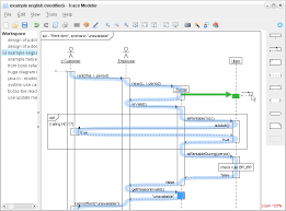 uml sequence diagrams   a quick introductiontrace modeler