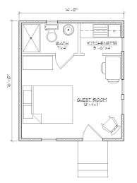 ideas about Small Guest Houses on Pinterest   Guest House    Small house plan for outside guest house  Make that a Murphy bed   bookcases built