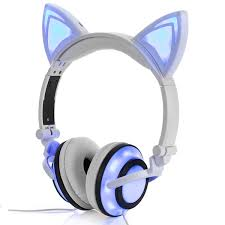 <b>Over</b>-<b>ear</b> Headphones With Cat Ear, LIMSON Rechargeable ...