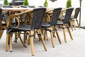 stock photo street furniture design bamboo chairs bamboo design furniture