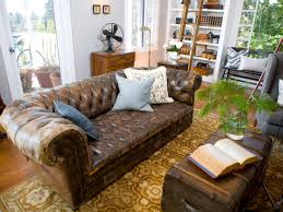 photos hgtv intended for vine shabby chic leather sofa vine shabby chic leather sofa regarding motivate chic living room leather