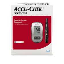 <b>Accu</b>-<b>Check Performa глюкометр набор</b> (29992) купить по цене ...