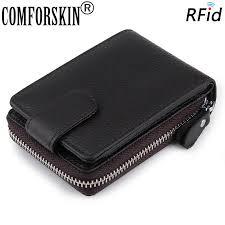<b>COMFORSKIN Brand</b> Premium <b>Genuine Leather</b> Magnetic Buckle ...