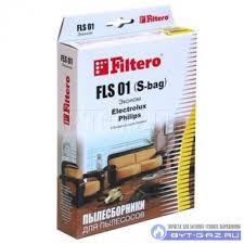 """<b>Набор пылесборников Filtero FLS</b> 01 (S-bag), бумажные """"Эконом ..."""