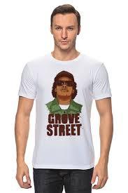 Футболка <b>классическая</b> GROVE STREET 4 LIFE #1001420 от ...