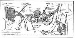 ford f starter solenoid wiring diagram  1989 ford mustang wiring diagram perotsr us on 1986 ford f150 starter solenoid wiring diagram
