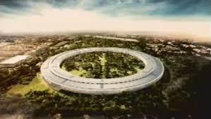 arriving apple new office design