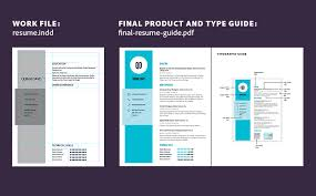 create and print a resume using indesign   adobe indesign cc tutorialsopen the work file and type guide
