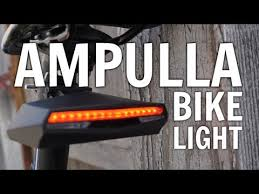 Ampulla Rechargeable <b>Bike</b> Tail <b>Light</b> Review with <b>Remote</b> Control ...
