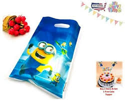 Gift Bag <b>Minions</b>,chocolate,candies,toys, Souvenir Bag <b>Theme party</b> ...
