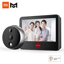 Youpin Xiaomo Video Doorbell Cat Eye Smart Vision <b>AI Face</b> ...