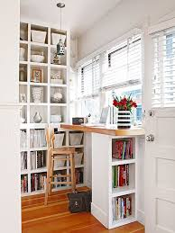 you may not want or need a dedicated office space but a little creative remodeling built desk small home office