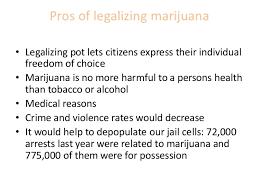 marijuana legalization research paper pros of legalizing marijuana