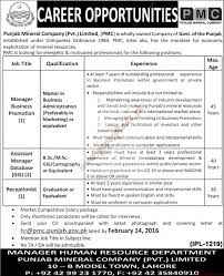 punjab mineral company private limited jobs the nation jobs ads punjab mineral company private limited jobs the nation jobs ads 04 2016