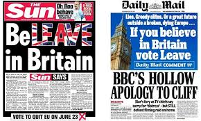 Image result for brexit media bias