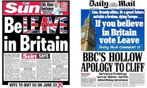 Image result for brexit media bias