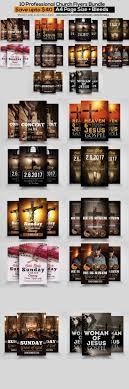 church flyers bundle