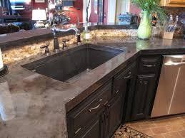 images kitchen ideas pinterest countertops kitchen concrete countertops charcoal stain epoxy finish diy tutorial