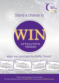 relay for life rfl raffle poster