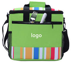 China <b>Large Capacity</b> Soft Cooler Tote <b>Insulated</b> Lunch <b>Bag</b> Green ...