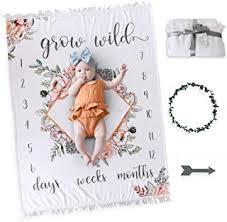Baby Milestone Blanket - Amazon.ca