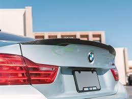 BMW <b>F82 M4</b> Performance Style Carbon Fiber <b>Trunk Spoiler</b>