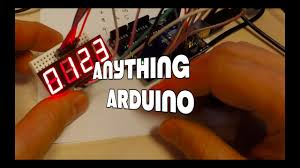 Arduino and the <b>4 digit 7 segment</b> led display - Anything Arduino Ep ...