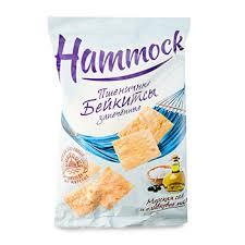 Снеки <b>Hammock Бейкитсы Морская соль</b> и оливковое масло 140 ...