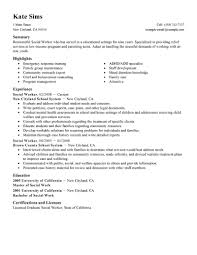 best social worker resume example livecareer create my resume