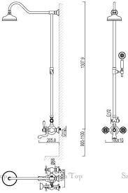 <b>Душевая стойка Schein</b> Saine CR 8053055 хром - купить в ...