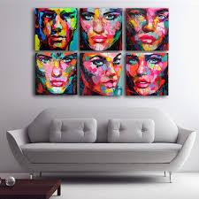 <b>6 Pcs Set Francoise</b> Nielly Palette Wall Art Picture Modular pictures ...