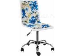 <b>Компьютерное кресло Mis</b> white / flowers fabric с доставкой от ...