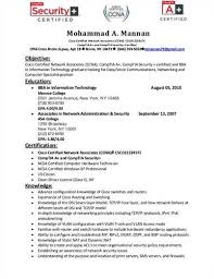 resume for cna resume examples resume for cna resume examples    sample ccna resume sample network