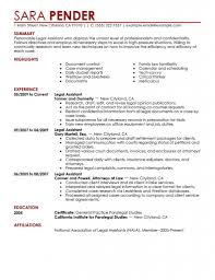 legal secretary cv example sample resume for inexperienced legal resume