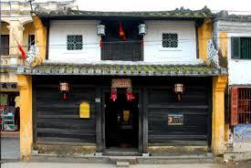 Mặt trước nhà cổ Tân Ký