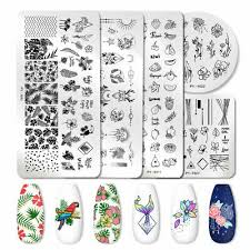 <b>PICT YOU Nail</b> Stamping Plates Stencil Stainless Steel Nail Fruit ...
