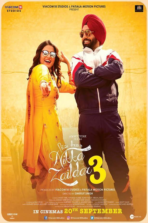 Nikka Zaildar 3 | Ammy Virk | Wamiqa Gabbi | Nirmal Rishi | New Punjabi Movie 2019 | PkFilmy