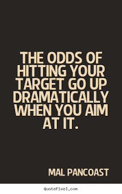 Hit The Target Quotes. QuotesGram via Relatably.com