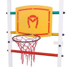 <b>Баскетбольное кольцо с щитом</b> Sportlim — купить в интернет ...