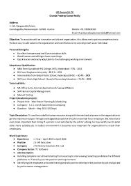 hr generalist resume