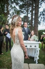 Resultado de imagem para vestidos de noiva em croche