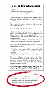 marketing postgraduate area of study degrees to careers example job ad example job ad example job ad