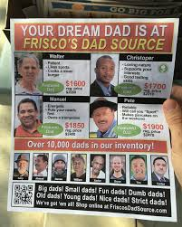this fake father s day flyer wants you to buy a new dad this fake father s day flyer wants you to buy a new dad