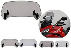 Universal Motorcycle Windshield Extension ... - Amazon.com