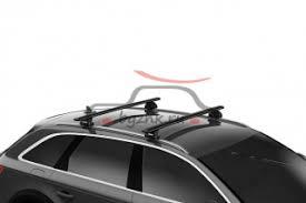 <b>Багажник</b> на крышу <b>Thule Wingbar EVO</b> Flush Rail чёрный для ...