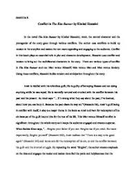 essay topics for the kite runner comfuturobrorg conflict in khaled hosseini s quot the kite runner quot a level english page