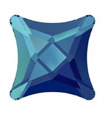 10.5MM <b>Crystal</b> Bermuda Blue F (001 BB) <b>2494</b> Starlet Плоская ...