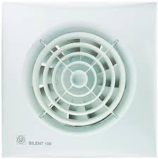 <b>Вытяжной вентилятор Soler</b> & Palau Silent-100 CZ белый купить в ...