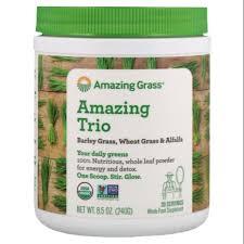 <b>Amazing Trio</b>, <b>Barley</b> Grass, Wheat Grass & Alfalfa | Shopee ...